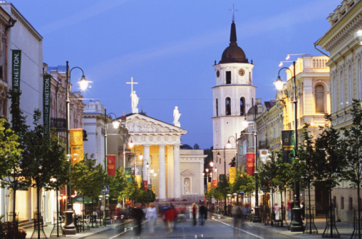 Vilnius Street Lighting LED Modernization PPP project