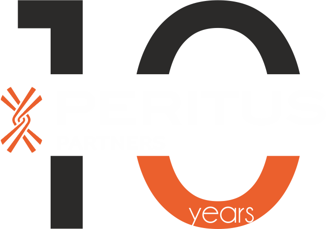 Peritus_logo 10 years